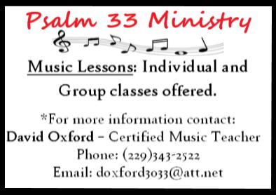 psalm 33 ministry